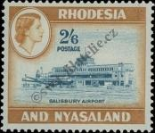 Stamp Federation of Rhodesia and Nyasaland Catalog number: 30
