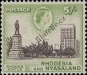 Stamp Federation of Rhodesia and Nyasaland Catalog number: 31