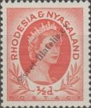 Stamp Federation of Rhodesia and Nyasaland Catalog number: 1