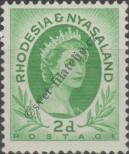 Stamp Federation of Rhodesia and Nyasaland Catalog number: 3