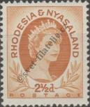 Stamp Federation of Rhodesia and Nyasaland Catalog number: 4