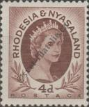 Stamp Federation of Rhodesia and Nyasaland Catalog number: 6