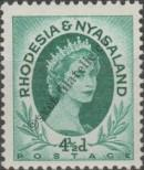 Stamp Federation of Rhodesia and Nyasaland Catalog number: 7