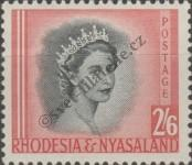 Stamp Federation of Rhodesia and Nyasaland Catalog number: 13