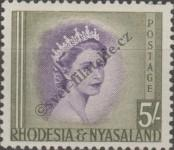 Stamp Federation of Rhodesia and Nyasaland Catalog number: 14