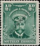 Stamp Southern Rhodesia Catalog number: 1