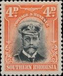 Stamp Southern Rhodesia Catalog number: 6