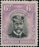 Stamp Southern Rhodesia Catalog number: 7