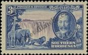 Stamp Southern Rhodesia Catalog number: 34