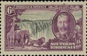 Stamp Southern Rhodesia Catalog number: 35