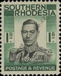 Stamp Southern Rhodesia Catalog number: 50
