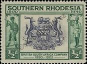 Stamp Southern Rhodesia Catalog number: 55