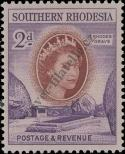 Stamp Southern Rhodesia Catalog number: 82