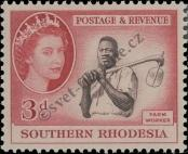 Stamp Southern Rhodesia Catalog number: 83