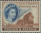 Stamp Southern Rhodesia Catalog number: 87
