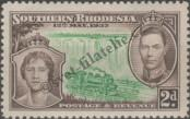 Stamp Southern Rhodesia Catalog number: 39