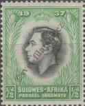 Stamp South West Africa Catalog number: 183