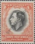 Stamp South West Africa Catalog number: 186