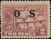 Stamp New Guinea Catalog number: S/3