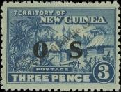 Stamp New Guinea Catalog number: S/4