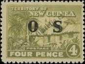 Stamp New Guinea Catalog number: S/5