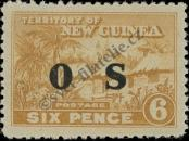 Stamp New Guinea Catalog number: S/6