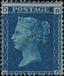 Stamp Great Britain Catalog number: 17