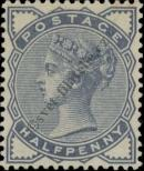 Stamp Great Britain Catalog number: 72
