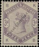 Stamp Great Britain Catalog number: 76