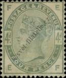 Stamp Great Britain Catalog number: 77