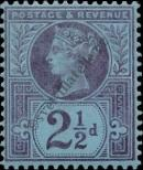 Stamp Great Britain Catalog number: 89