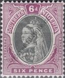 Stamp Southern Nigeria Catalog number: 5
