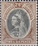Stamp Southern Nigeria Catalog number: 7