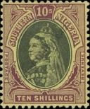 Stamp Southern Nigeria Catalog number: 9