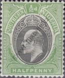 Stamp Southern Nigeria Catalog number: 10