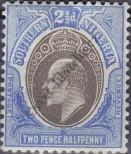 Stamp Southern Nigeria Catalog number: 13