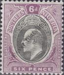Stamp Southern Nigeria Catalog number: 15