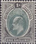 Stamp Southern Nigeria Catalog number: 16