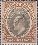 Stamp Southern Nigeria Catalog number: 17