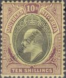Stamp Southern Nigeria Catalog number: 19