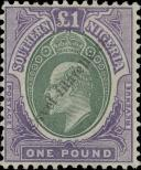 Stamp Southern Nigeria Catalog number: 20