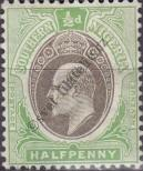 Stamp Southern Nigeria Catalog number: 21