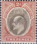 Stamp Southern Nigeria Catalog number: 23