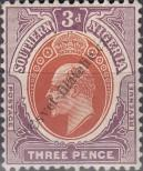 Stamp Southern Nigeria Catalog number: 25