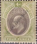 Stamp Southern Nigeria Catalog number: 26