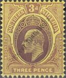 Stamp Southern Nigeria Catalog number: 37
