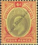 Stamp Southern Nigeria Catalog number: 38