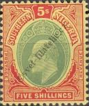 Stamp Southern Nigeria Catalog number: 42
