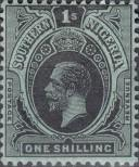 Stamp Southern Nigeria Catalog number: 52