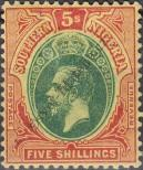 Stamp Southern Nigeria Catalog number: 54
